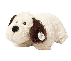 Poduszka składana – Pies pasterski z czarnymi uszami