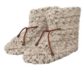 Pantofle wełniane – melanż ze sznurkiem