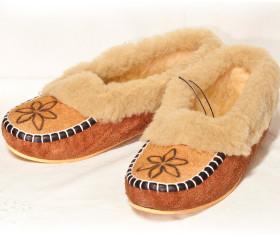 Pantofle damskie – rdzawianki