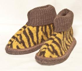 Pantofle filcowe – dziecinne