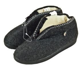 Pantofle filcowe – niskie z zamkiem