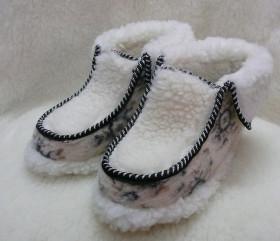 Tumbler biały z filcem