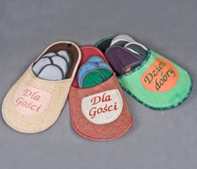Pantofle dla gości
