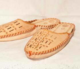 Pantofle męskie rzemyk