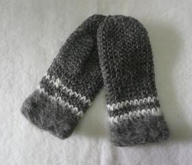 Rękawiczki – plecione