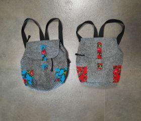 Plecaki filcowe